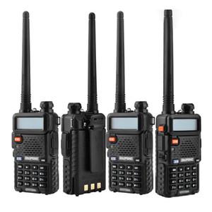 2018 BaoFeng UV-5R UV5R Walkie Talkie banda doble 136-174Mhz 400-520Mhz Transceptor de radio bidireccional con 1800mAH Auricular sin batería (BF-UV5R