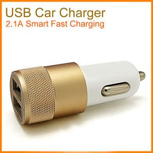 Para iPhone 11 Samsung S20 universal de doble puerto USB cargador de coche adaptador de coche colorido del enchufe 5V 1-2Amp 2 puertos Universal Plug coche