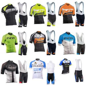 NW NETAPP biciclette 2020 Maglia COLNAGO estate degli uomini che cicla breve Camicia MTB maglia ciclismo hombre Bike Salopette coprono insieme C629-70