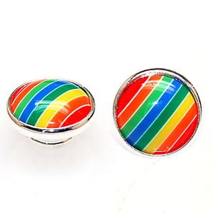 مغلفة / شرائط Jewelpops يناسب DIY إدراج سحر أساور ، قلادة ، خاتم ، 925 الفضة تصفيح ، jewelpops متنوعة اللون
