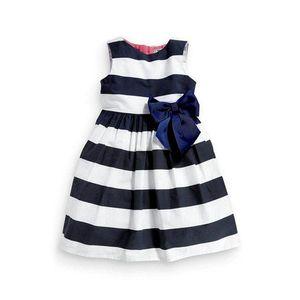 1-5 años niños niñas bebés vestido de una pieza de tutú de verano azul bowknot vestidos de princesa