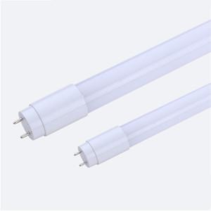 T8 Plastic completa LED Tubes 4 pés 5 pés 18W 22W G13 AC85-265V Luzes PF0.9 2835SMD Plastic bulbos fluorescentes direto de Shenzhen, China grosso