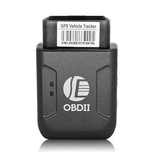 Mini GPS TK206 OBD 2 Temps réel GSM quadri-bande anti-vol GSM GPRS Vibration alarme Mini GPRS voiture Tracker Suivi OBD II