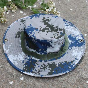 Тактическое ведро Beanie Hats Airsoft Sniper Camouflage Непальская колпачка Военная армия Американские Военные аксессуары Пешие шляпы 11 Цветов