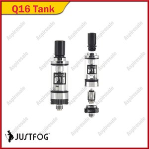 Authentic Justfog Q16 Atomizador 2 ml Bottom Airflow BCC Tanque 1.6ohm Japonês Clearomizer Para Original 510 Kits de Linha Mod 100% Genuíno