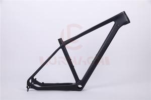 Lurhachi CMF20 27.5er mtb الدراجة الكربون الإطار الكربون mtb الإطار 27.5er الجبلية دراجة الإطار + الظهور axel + سماعة + شماعات الخلفية
