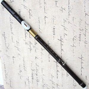 Transverse Jouant Bawu Flûte F / G Clé Pourpre Naturel Bambou Flauta Bawu Détachable Bau Folk Instrument Flauta Avec Livraison Gratuite