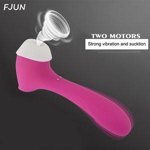 Sextoys тела массажер секс-игрушки для взрослых сосать вибратор водонепроницаемый 8 Скорость женщина клиторальные стимуляторы вибраторы для женщин пара C18111601