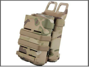 Airsoft MULTICAM Fast Mag Molle Funda M4 Doble FastMag Clip / 5.56mm