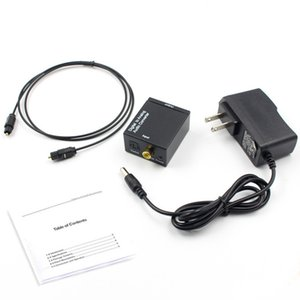 Digital-Analog-Audio-Konverter Digital Adapter Optic Coaxial RCA Toslink Signal-Analog-Audio Converter RCA