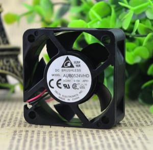 El original delta 5020 AUB0524VHD DC24V 50 * 50 * 20mm 0.15A 2 línea ventilador de refrigeración del inversor