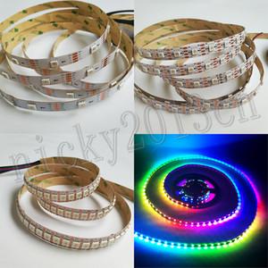 5V APA102 5050 RGB LED Pixel Flexible Strip Light Tape Individual Addressable Programmable 4Pin Resume Data Clock Separately Digital