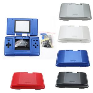 استبدال البلاستيك كاملة الإسكان شل الغطاء القضية ل Nintend DS NDS Console جودة عالية سريع السفينة