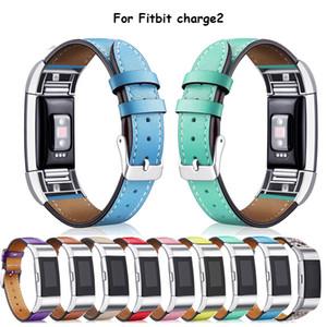 Boa Qualidade Assista Banda de Substituição Genuína Macia Bezerras de Couro Clássico Pulseira para Fitbit Charge 2 watchband