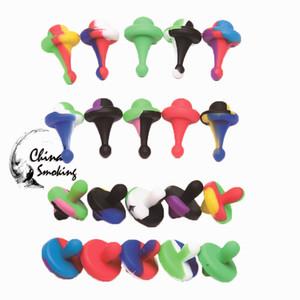 Silicone Carb Cap Dia 25mm Para Quartz Banger Nails Silicon Carb Caps Cores Misturadas de Silicone Do Produto Comestível