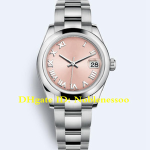 16 Style Lady Perpetual Datejust Midsize 31mm 178274 Pink Dial 178243 178240 Asia 2813 Movement Automatic Ladies Women Watches