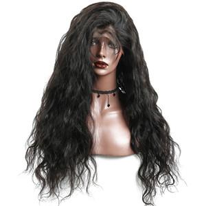 Soie Top 7A Lace Front perruque de cheveux humains pour les femmes noires 130% Non transformés Cheveux brésiliens base de soie sans colle Lace perruque profonde vague