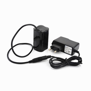 Bike Light 4x 18650 Battery Pack 8.4V for SolarStorm X2 X3 T6 Bike Lamps + Charger Free Shipping