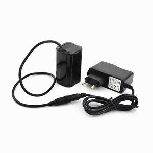 Bike Light 4x 18650 batterie 8.4V pour SolarStorm X2 X3 T6 vélo Lampes + Chargeur Livraison gratuite