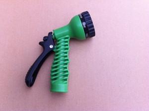 Tubo de manguera de agua Gargen flexible de 100 pies para válvula de coche con pistola pulverizadora con conector de la UE EE. UU. Azul