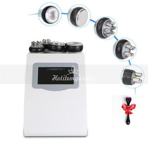 rodillo de agujas micro 5IN1 ultrasonido cavitación 40K Radio Frecuencia RF Multipolar vacío máquina de Fotones pérdida de grasa de la cara cuerpo cuidado + regalo