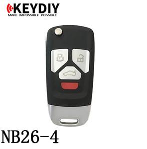 KEYDIY NB série NB26-4 Clé de télécommande multifonction pour KD300 et KD900 pour produire n'importe quel modèle de télécommande