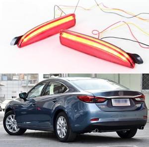 For Mazda 6 2016 2017 2018 Multi-functions Car LED Rear Fog Lamp Bumper Light Auto Brake Light Turn Signal Light Reflector