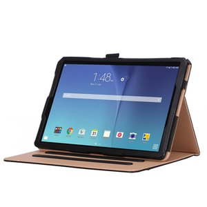 Luxury Business Cover Case for Samsung Galaxy Tab S4 10.5 SM-T835 SM-T830 T835 T830 2018 Tablet with Front Support Hand Strap