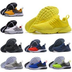nike air presto 5 BR QS Zapatillas para correr Breathe Safari Pack Negro Blanco Azul Amarillo Rojo Hombres Mujeres Diseñador deportivo Zapatos Zapatillas 36-46