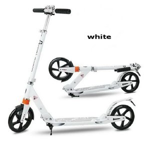 S Free Shipping Teenager Adult Foldable Scooter, 2 Wheels Folding Scooter, kick push scooter