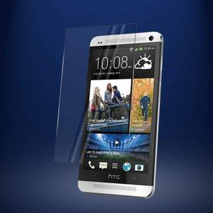 HTC M7 / one에 대 한 명확한 HD 강화 유리 스크린 보호기 2.5 D 9 H 경도 탄도 유리 강화 된 M8 미니 M9 E9 / E9 +