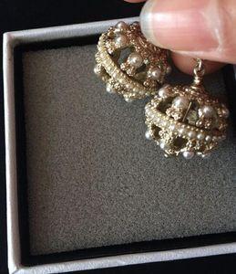Moda brincos brincos bola redonda para brincos casamento jóias mulheres com sacos de flanela para presente da jóia