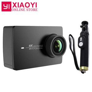 "Original Para Xiaomi YI 4K Ação Camera Sports Câmera 2 Ambarella A9SE 2,19"" 155 Degree 12MP EIS LDC [International Edition]"