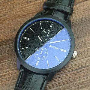 La coppia di marca Classic WristWatch Moda Uomo tendenze della moda Blu-ray orologi di alta qualità orologio da polso al quarzo orologio all'ingrosso
