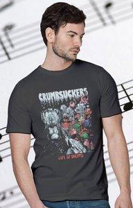 Heißer Verkauf CRUMBOOKS LEBEN VON DREAMS'86 CROSSOVER PRO-PAIN GANG GRÜNES T-Shirt