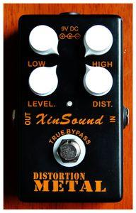 XinSound tarafından Ağır Metal Bozulma Gitar Efekt Pedal