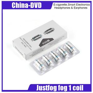 100% оригинал Justfog Fog 1 Катушки 0.5ohm 0.8ohm Запасные катушки, пригодные для Justfog Fog 1 Kit
