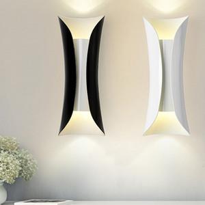 새로운 침실 침대 옆 방 벽 Sconces WA032 옆에 현대 알루미늄 파이프 벽 램프 예술 LED 벽 램프 보루 베드룸