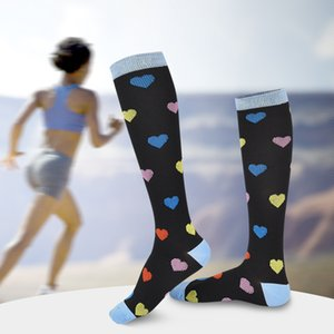 ضغط الجوارب الرجال والنساء أزياء مضحك الطباعة الملونة الرجعية الأعمال الجوارب ضغط جوارب جورب 20 قطع CNY696