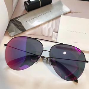lunettes de soleil design pour hommes lunettes de soleil pour femmes oculos de sol lunettes de soleil pour hommes marque de revêtement de soleil pour marque de designer Victoria Beckham