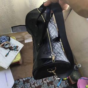 Новое прибытие дорожная сумка Lingge вышивка золотой логотип женщины Yogo спортивная сумка с calssic pattern beach case хорошее качество (Анита)
