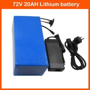 Yüksek güç 72 V 20AH Lityum Pil 72 V 20AH Elektrikli bisiklet pil 72 V 20 S Pil paketi Kullanımı 3.7 V 5.0AH 26650 Hücre 30A BMS ve 2A Şarj