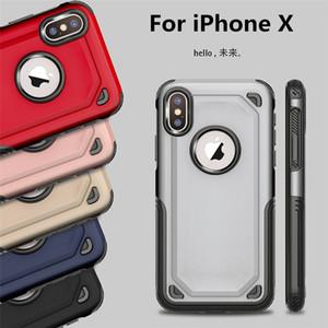 Caso de armadura híbrida caso duro de camada dupla de s10 s10e nota 9 s8 s9 mais tpu caso à prova de choque de PC para iphone x 6 7 8 nota 8 xr xs max 5s