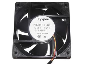 냉각 팬 새로운 원래 Zyvpee 12,038 ZYP-12C12DL-RA2 12V 0.24A 3Wire 12cm MMF-12C12DL-RA2