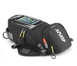 Givi دراجة نارية حقيبة الوقود الجديدة حقيبة الهاتف المحمول الملاحة متعددة الوظائف الصغيرة حزمة خزان النفط ثابتة الأشرطة الثابتة