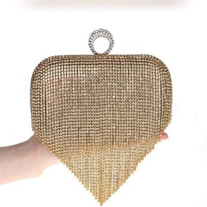 Satin PU Style Evening Shield Handmade Handbags Golden Toryburch With Bag clutch Unique Bags Handbag Hot Handbag Hand Clutch Crystal Mvqcl