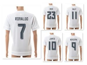Atacado 15-16 Temporada 7 # RONALDO Camisas De Camisas De Futebol Atlético, Camisas De Futebol De Treino, Personalizado Thai Qualidade Top De Futebol Topos De Futebol