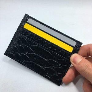 2016 Yeni Hakiki Python Cilt Deri Para Kart Tutucu Ince Cüzdan Yılan Deri Kredi Kartı Tutucu Mans Için Ultra Ince Cüzdan Ücrets ...