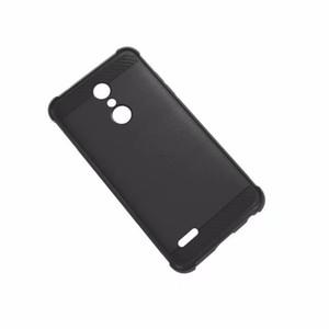 1.3mm Housse antichoc souple en silicone TPU Silicone Quatre angle Téléphone Case pour LG K10 2018 LV5 2018