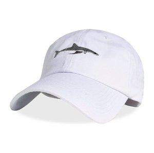 Хлопок Мыть Casquette Бейсболки Спорт На Открытом Воздухе Мужские Шляпы Акула Вышивка Папа Шляпа Для Женщин Gorras Planas Trucker Cap